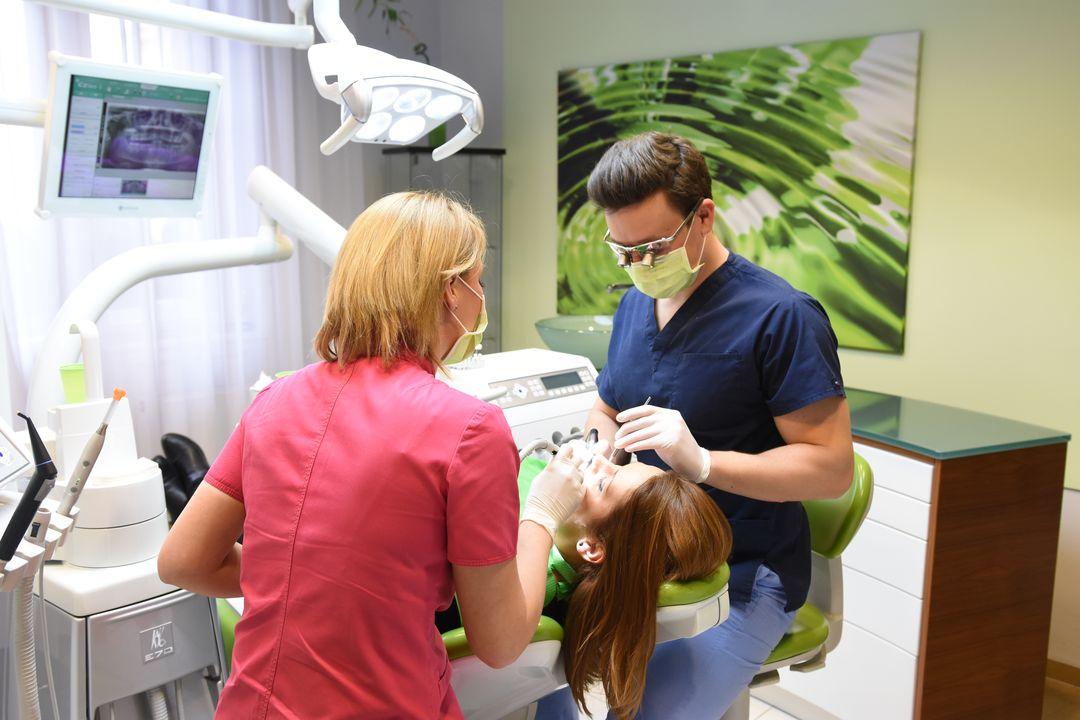 Entfernung der Zyste bei Moritz Dental Zentrum