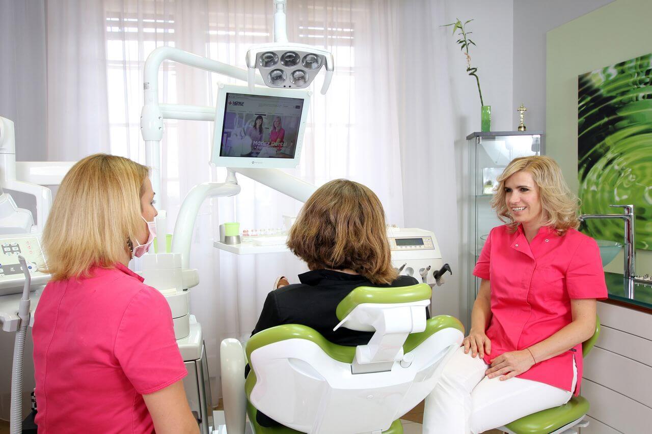 Inlays und Onlays werden bei Moritz Dental dann verwendet, wenn ein Loch zu grpü ist